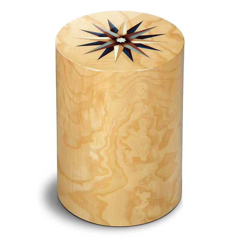 zylinder urne pisa windrose mirto 7 liter billige. Black Bedroom Furniture Sets. Home Design Ideas