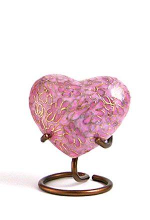 essenz rose cloisonne herz urne
