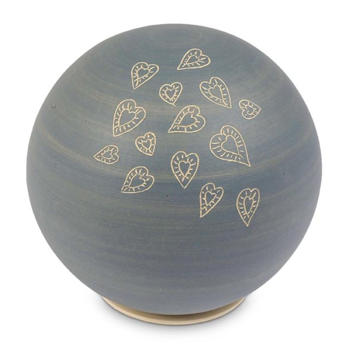 grosse keramische kugel urne liter ubvrig  h