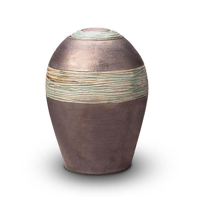 grosse keramische urne
