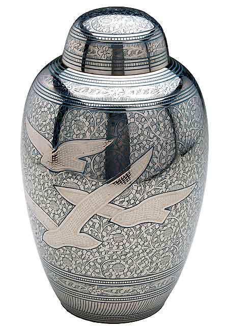 gro e messing urne 3 2 liter billige urnen deutschland. Black Bedroom Furniture Sets. Home Design Ideas