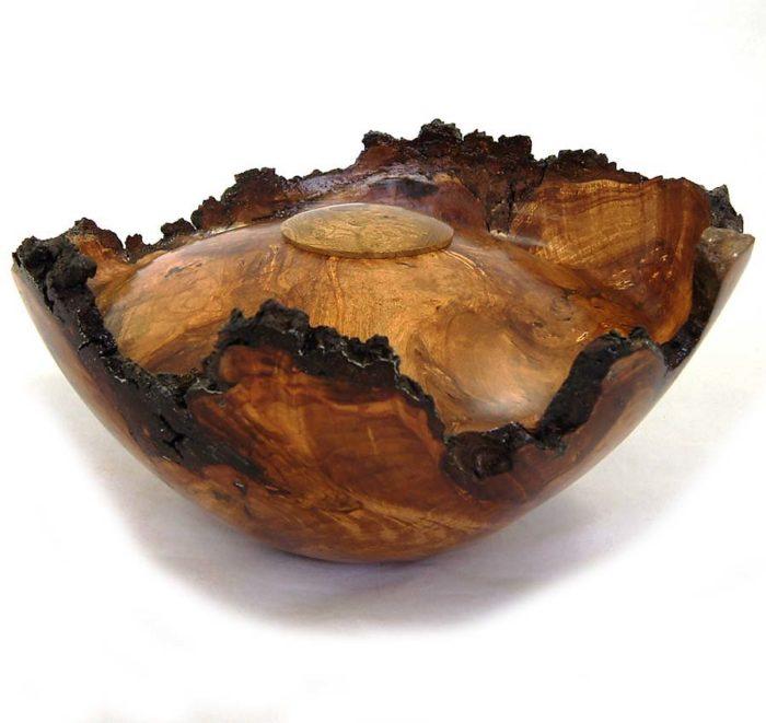 holz urne aus birke