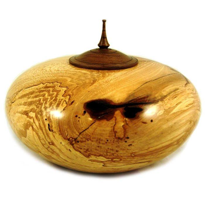 holz urne aus stachelbeere und walnuss liter kruisbeswalnoot