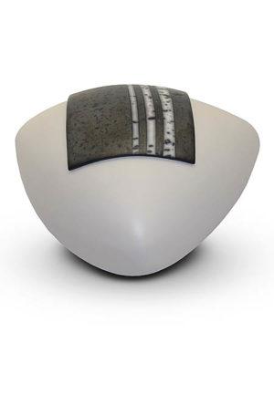 keramische umarmung urne