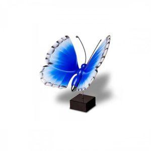 kleine holzerne ikarus blau