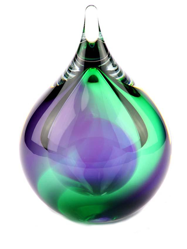 kleine kristallglaser D blase tierurne