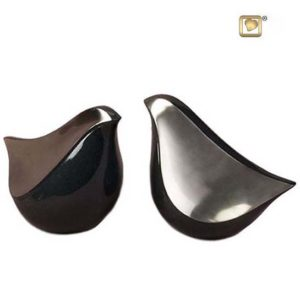 lovebird duo urne