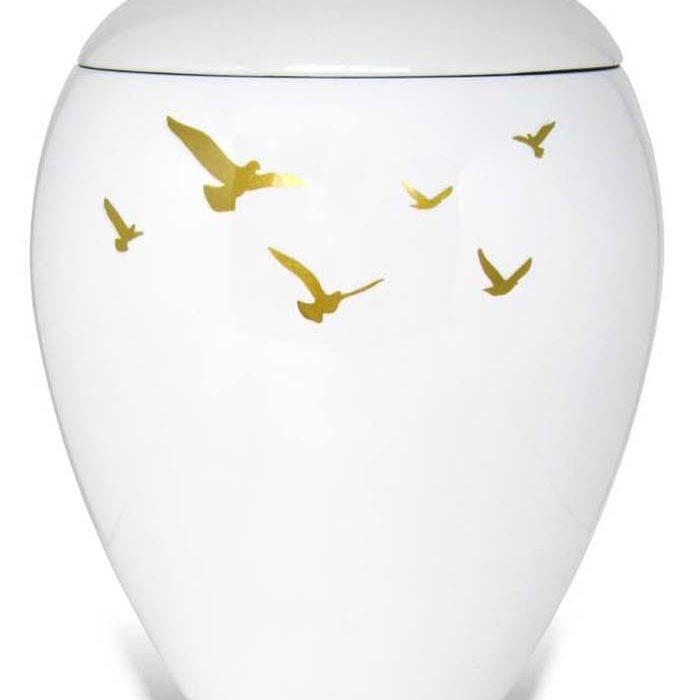 ovale harz urne vogel liter mz uresw