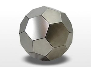rvs fussball urne