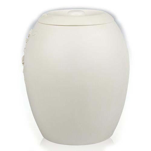 schmetterlinge urne mit kirschblute liter as