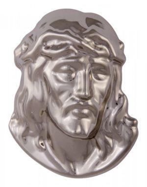 Jesus kopf aus messing Grabschmuck