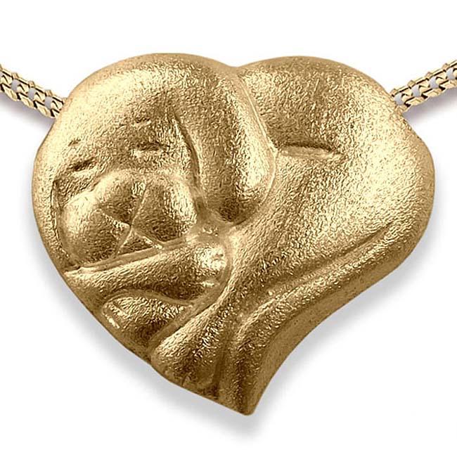Anhänger Schlafende Kleiner Hund Gold Ascheschmuck Tiere