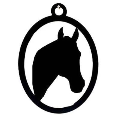Pferdekopf Wandprofil ohne Achsenziel mit Ascheverarbeitung Tierurnen