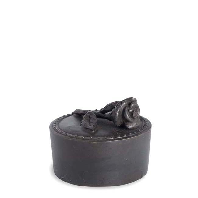 Bronze Mini Tierurne Meine Rose (0,05 Liter) Bronzen Tierurne