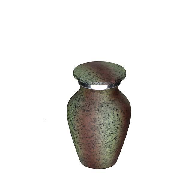 Eleganz Mini Tierurne Metallischeslook (0,1 Liter) Tierurnen