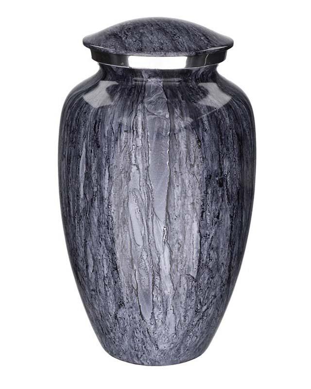 Große Eleganz Tierurne Masse Blau Granit (3,5 Liter) Tierurnen