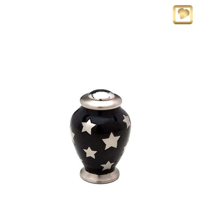 Mini Messing Simplicity Tierurne Vase Sterne (0,1 Liter) Tierurnen