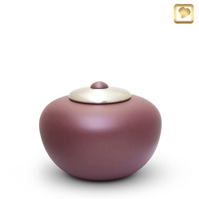 Mittelgroße Messing Simplicity Tierurne Cranberry (0,7 Liter) Tierurnen