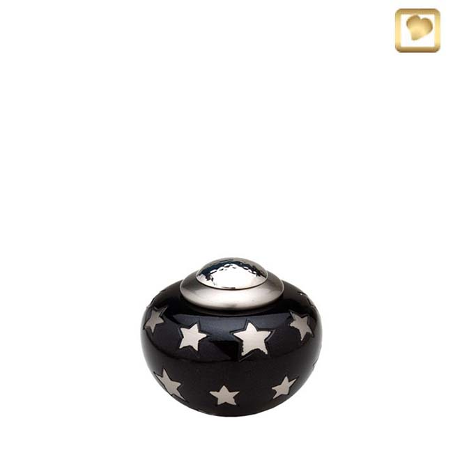 Mini Messing Simplicity Tierurne Sterne (0,1 Liter) Tierurnen