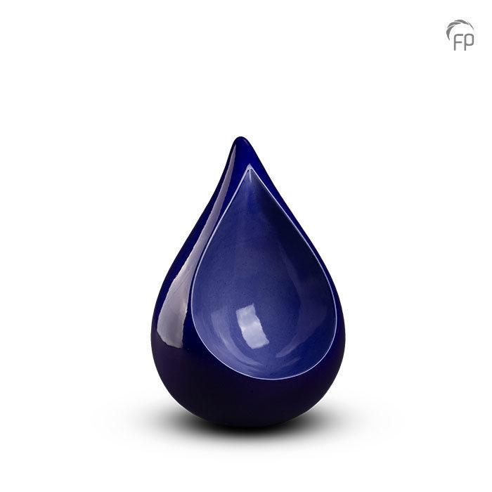 Keramische am härtesten Blau Mini Tierurne (0,4 Liter) Keramische Tierurnen