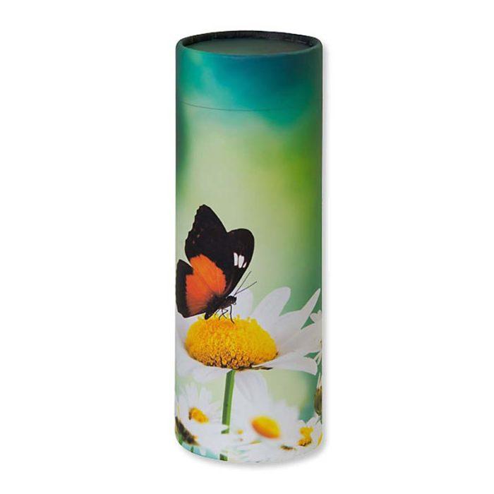 Große Bio Tierurne Achsverteilungsrohr Schmetterling (3,8 Liter) Tierurnen
