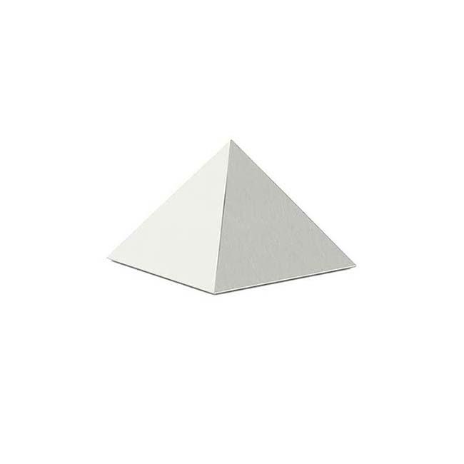 Mini RVS Pyramide Tierurne (0,2 Liter) Mini Tierurnen aus Edelstahl