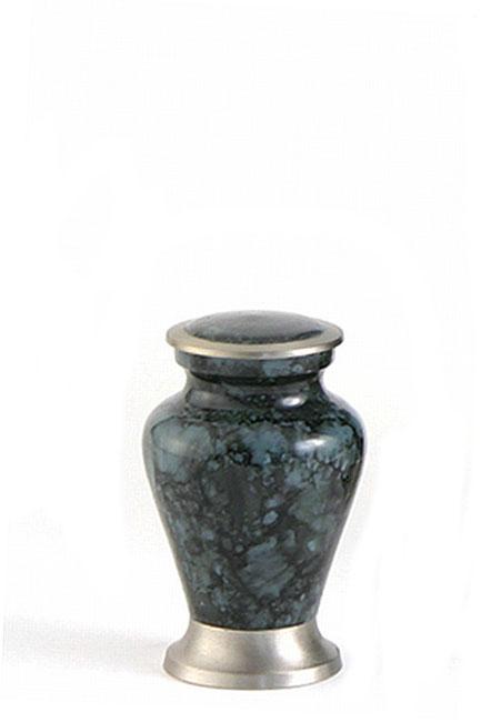Glenwood Grey Marble Mini Tierurne (0,08 Liter) Kleine Urnen für Kleintiere