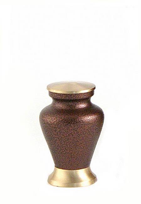 Glenwood Vintage Copper Mini Tierurne (0,08 Liter) Kleine Urnen für Kleintiere