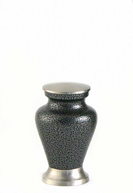 Glenwood Vintage Pewter Mini Tierurne (0,08 Liter) Kleine Urnen für Kleintiere