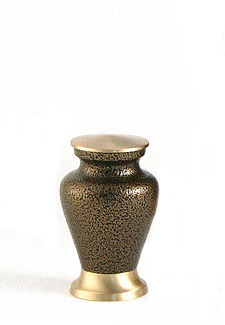 Glenwood Vintage Bronze Mini Tierurne (0,08 Liter) Kleine Urnen für Kleintiere