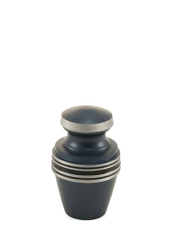 Griechische Blau Mini Tierurne (0,08 Liter) Kleine Urnen für Kleintiere