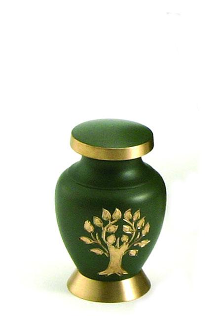 Aria Tree of Life Mini Tierurne (0,08 Liter) Kleine Urnen für Kleintiere