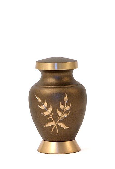 Aria Wheat Mini Tierurne (0,08 Liter) Kleine Urnen für Kleintiere