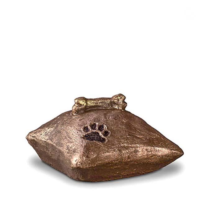 Mini Komfort Verlassene Küsse Tierurne (0,1 Liter) Kleine Urnen für Kleintiere zum Trost