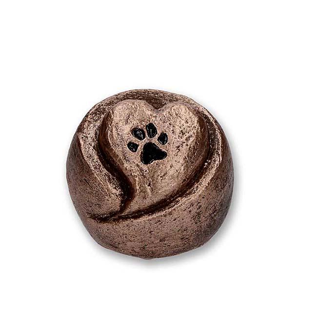 Komfort Tierliebe Tierurne (0,1 Liter) Kleine Urnen für Kleintiere zum Trost