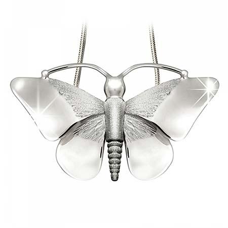 Anhänger Schmetterling Silber Ascheschmuck Tiere