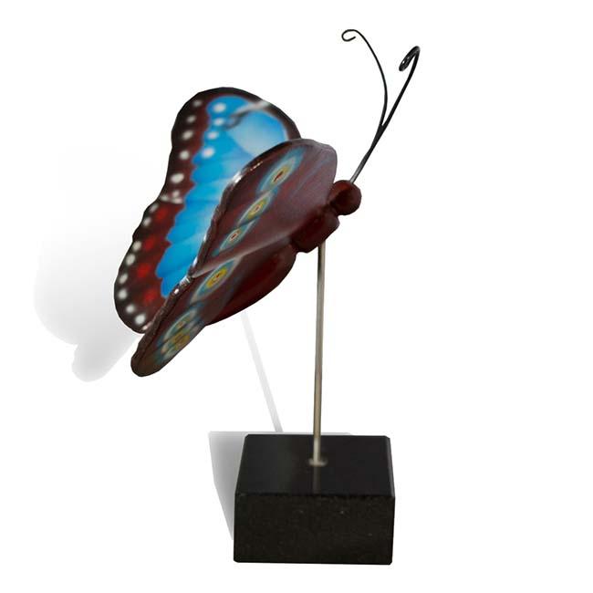 Großer Hölzerner Eschenschmetterling Blaue Morpho (0,003 Liter) Hölzerne Schmetterlinge für Asche