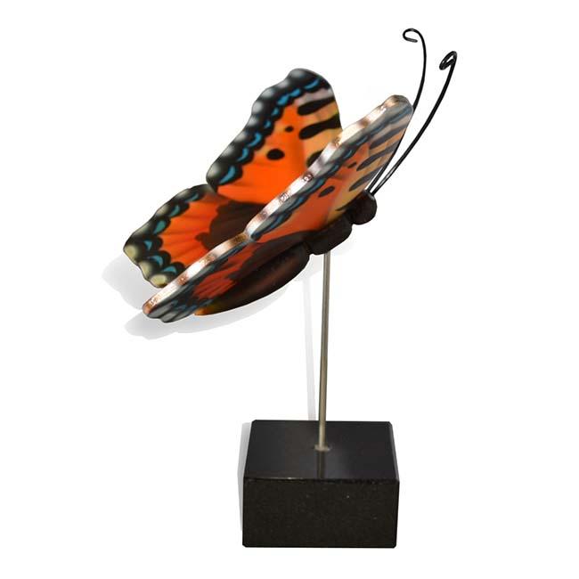 Kleiner Hölzerner Eschenschmetterling Fox (0,003 Liter) Hölzerne Schmetterlinge für Asche