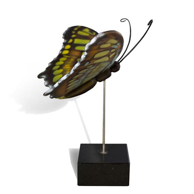Großer Hölzerner Eschenschmetterling Malachit (0,003 Liter) Hölzerne Schmetterlinge für Asche