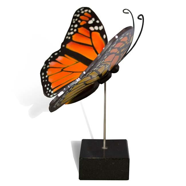 Großer Hölzerner Eschenschmetterling Monarch (0,003 Liter) Hölzerne Schmetterlinge für Asche