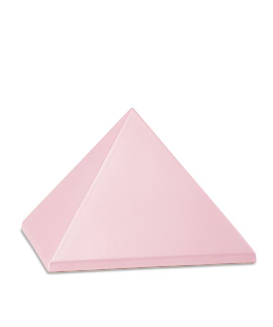 Mittelgroße Pyramide Tierurne Pink (1,5 Liter) Pyramidenförmige Urnen Haustier