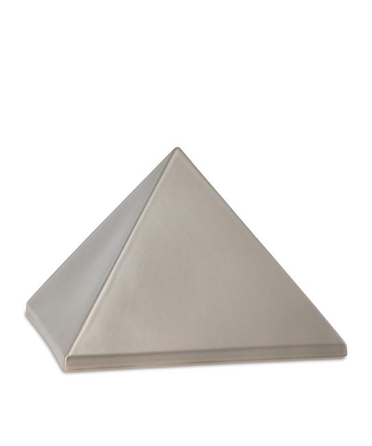 Mittelgroße Pyramide Tierurne Fume (1,5 Liter) Pyramidenförmige Urnen Haustier