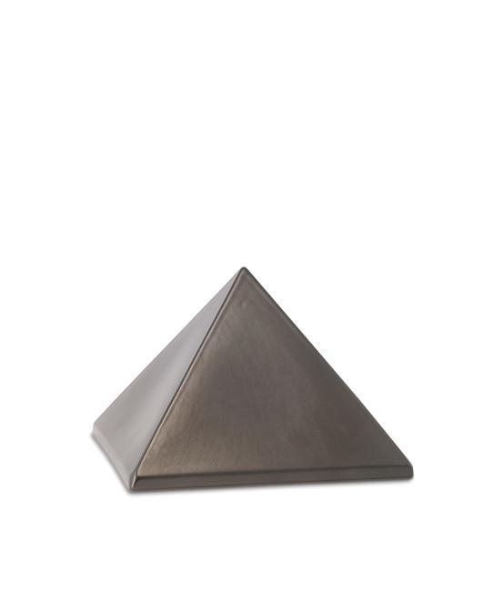 Kleine Pyramide Tierurne Schokolade (0,5 Liter) Pyramidenförmige Urnen Haustier