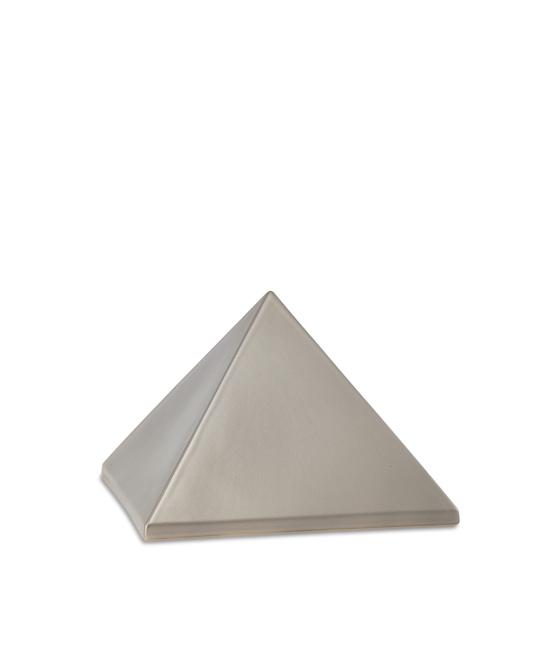 Kleine Pyramide Tierurne Fume (0,5 Liter) Pyramidenförmige Urnen Haustier