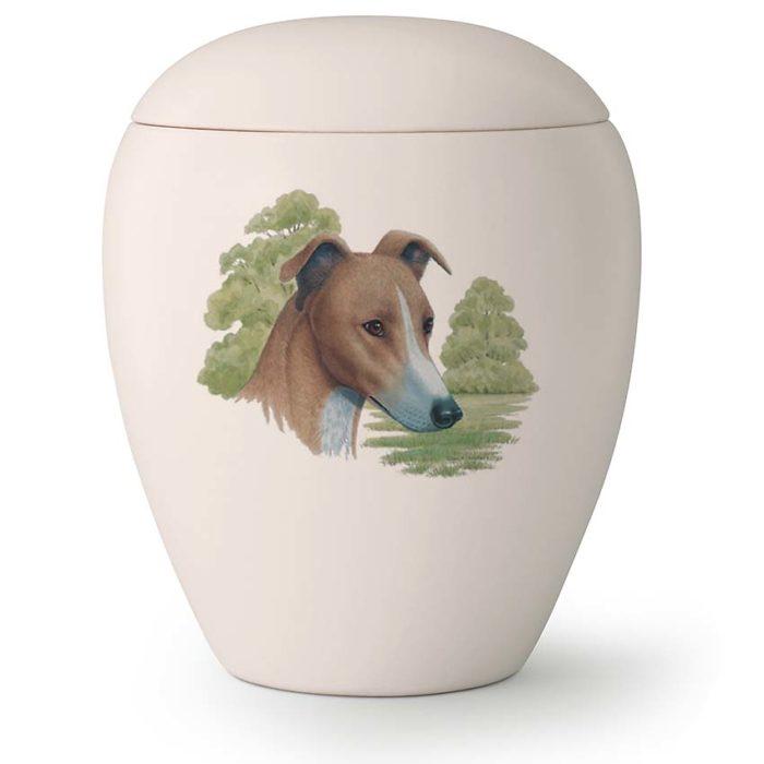 Große Hundeurne Windhund (2,8 Liter) Hundeurnen