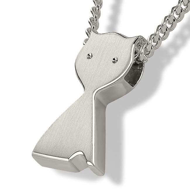Anhänger Katze Silber Asche Schmuck