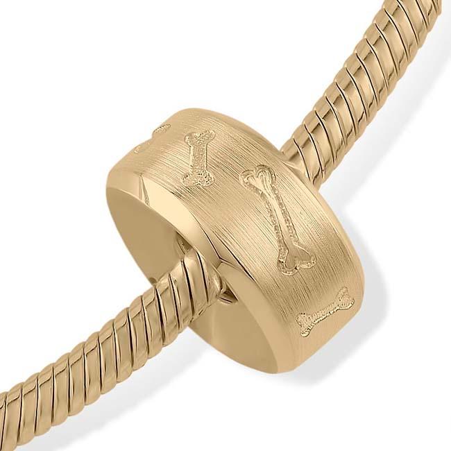 Asche Schmuck Strak Design Pet Memorial Knochen Gold Asche Schmuck