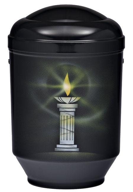 Design Urne Brennende Kerze (4,0 Liter) Edelstahl Urnen
