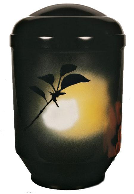 Design Urne Blüte (4,0 Liter) Edelstahl Urnen