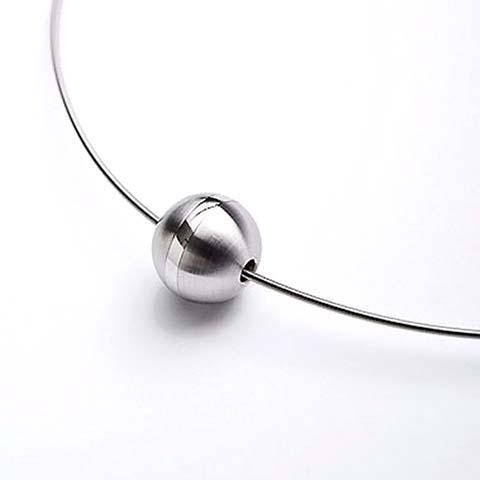Exklusive Design Asche Medaillon Ball Kleine Asche Schmuck